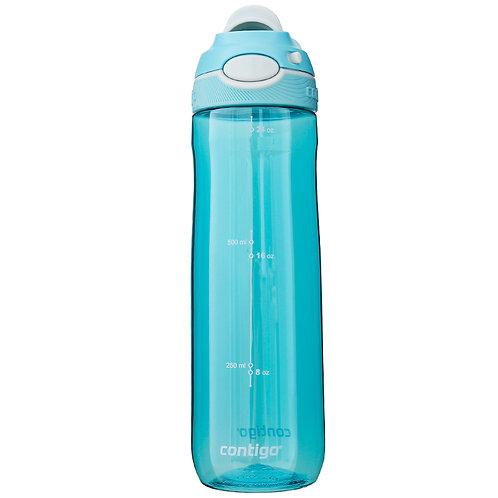 Contigo Damen Chug Water Bottle w/lock (Tritan) 24oz (709ml) - Sky Blue