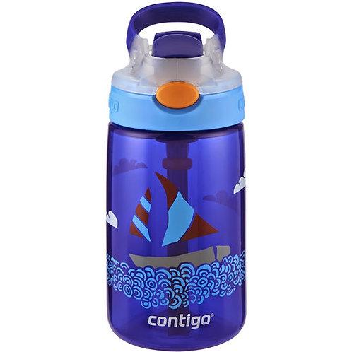 Contigo Gizmo Autospout Kids Bottle (PP) 14oz (410ml) - Sailboat