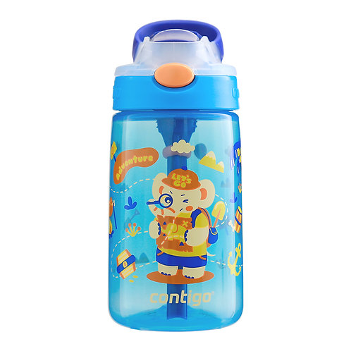 Contigo Gizmo Autospout Kids Bottle (PP) 14oz (410ml) - Treasure Hunting