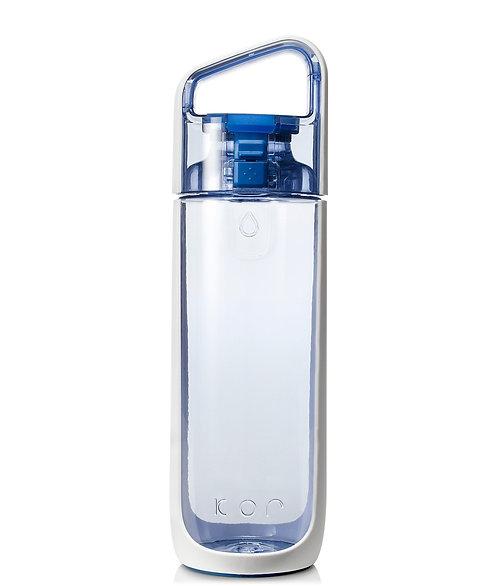 KOR Delta Water Bottle (Tritan) 17oz (500ml) - Clear Water