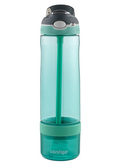 Contigo Ashland Infuser Water Bottle w/lock (Tritan) 26oz (768ml) - Grey Jade