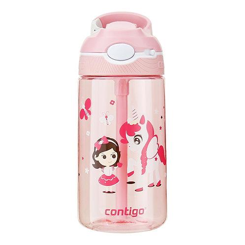 Contigo Ashland Water Bottle w/lock (Tritan) 16oz (450ml) - Little Pony And Girl
