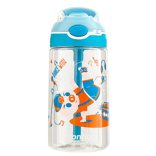 Contigo Ashland Water Bottle w/lock (Tritan) 16oz (450ml) - Dancing Pig