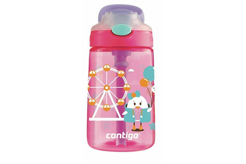 Contigo Gizmo Autospout Kids Bottle (PP) 14oz (410ml) - Farris Wheel Chick