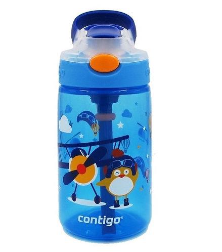 Contigo Gizmo Autospout Kids Bottle (PP) 14oz (410ml) - Pilot Chick