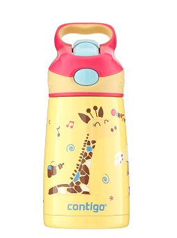 Contigo Striker Kids Bottle (S/S) 10oz (300ml) - Giraffe
