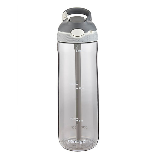Contigo Ashland Water Bottle w/lock (Tritan) 24oz (709ml) - Lt.Grey