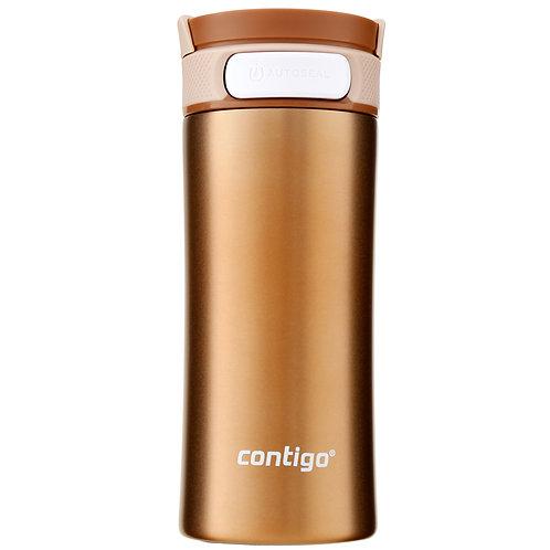 Contigo Metra w/Lock (S/S) 12oz (350ml) - Gold