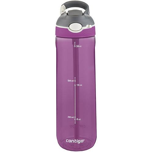 Contigo Ashland Water Bottle w/lock (Tritan) 24oz (709ml) - Radiant Orchid