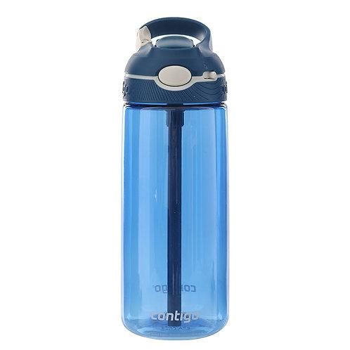 Contigo Ashland Water Bottle w/lock (Tritan) 20oz (590ml) - Monaco Blue
