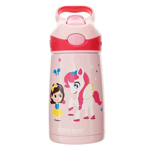 Contigo Striker Kids Bottle (S/S) 10oz (300ml) - Little Pony And Girl