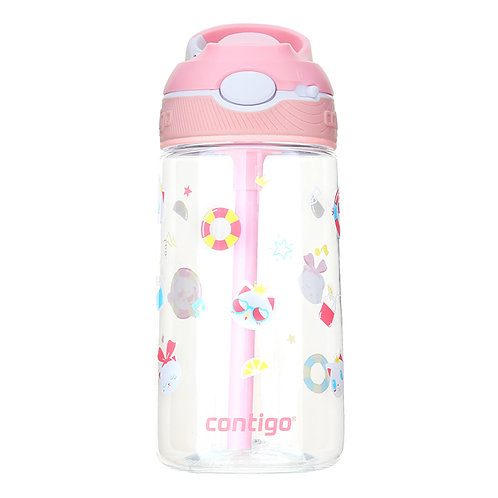 Contigo Ashland Water Bottle w/lock (Tritan) 16oz (450ml) - Sweet Heart Cat