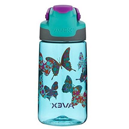 Avex Freeride Kids Bottle (Tritan) 16oz (450ml) - Butterfly Graphic