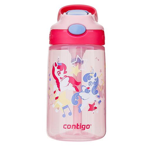 Contigo Gizmo Autospout Kids Bottle (PP) 14oz (410ml) - Little Twins Pony