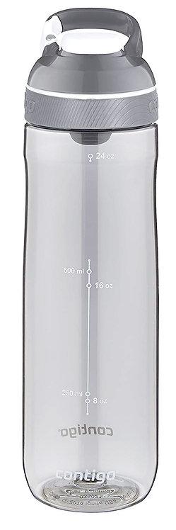 Contigo Cortland Water Bottle w/lock (Tritan) 24oz (709ml) - Smoke