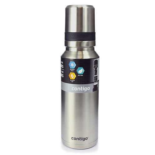 Contigo Highland 360 Pour (S/S) 40oz (1180ml) - Silver