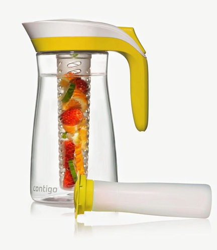 Contigo Pitcher with infuser 72oz (2L) - Yellow