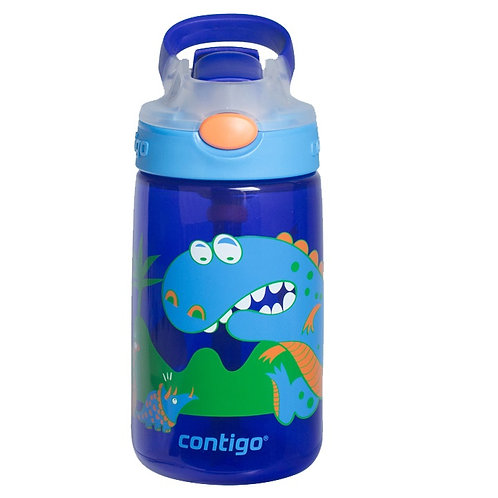 Contigo Gizmo Autospout Kids Bottle (PP) 14oz (410ml) - Dinosaur