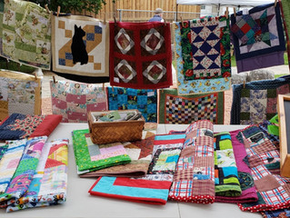 Pop-Up Quilt Show at  Erin Farmer's Market
