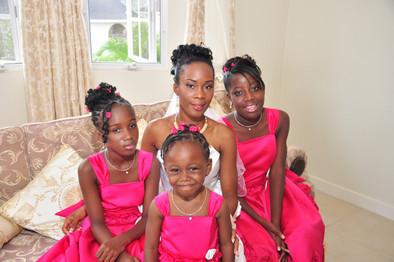 Kia, Iesha, Zoé and Samya