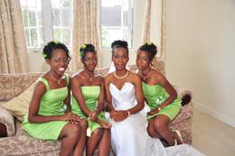 Nakeisha, Alana, Iesha and Shaneice