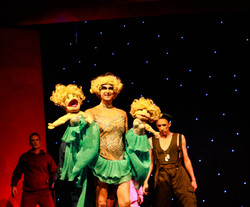 Mitzi Mitosis Performs Her Act