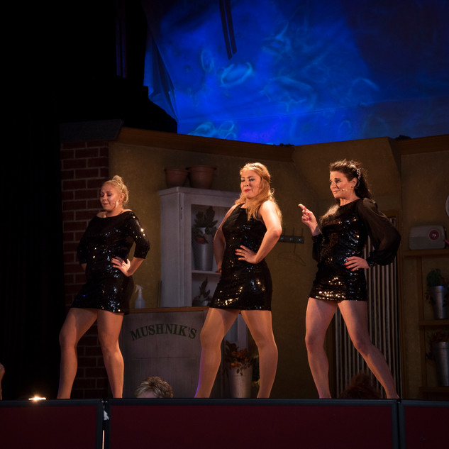 """The Girls in """"Little Shop of Horrors"""""""