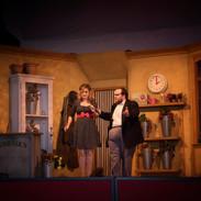 Audrey and Mr Mushnik