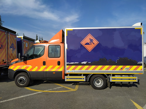 Iveco 70 180 Double Cabin Truck 2018