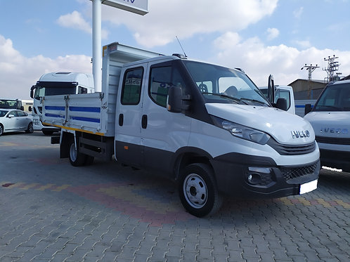 Iveco Double Cabin Tipper Truck 2016