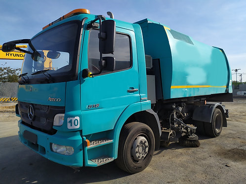 MB Atego Garbage Truck 2014
