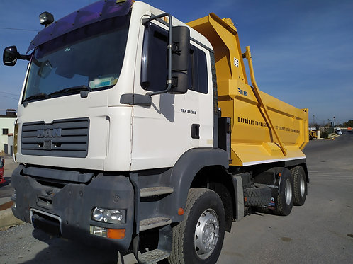 MAN Tipper Truck 2015