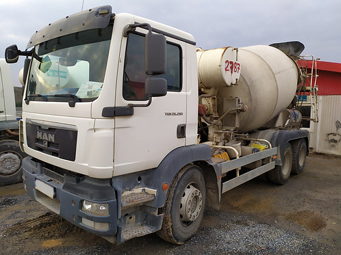 MAN Mixer Truck 2015