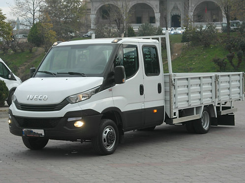 Iveco Double Cabin Platform Truck 2018