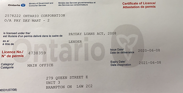 paydaymart licence.PNG