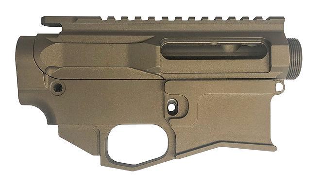 Cerakoted Billet AR15 Upper/80% Lower Set