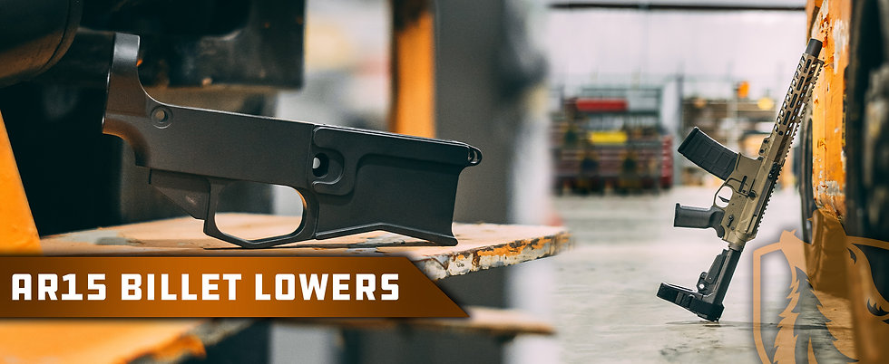 Wolfpack Armory Billet Lowers