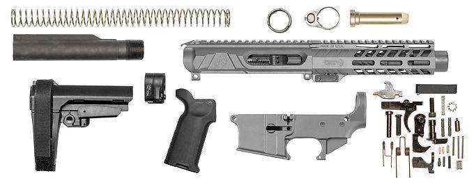 AR15 Elite 80% Pistol Kit