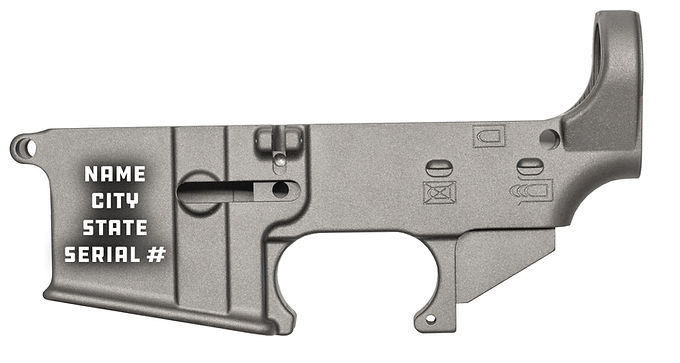 Compliance/NFA Engraving Package