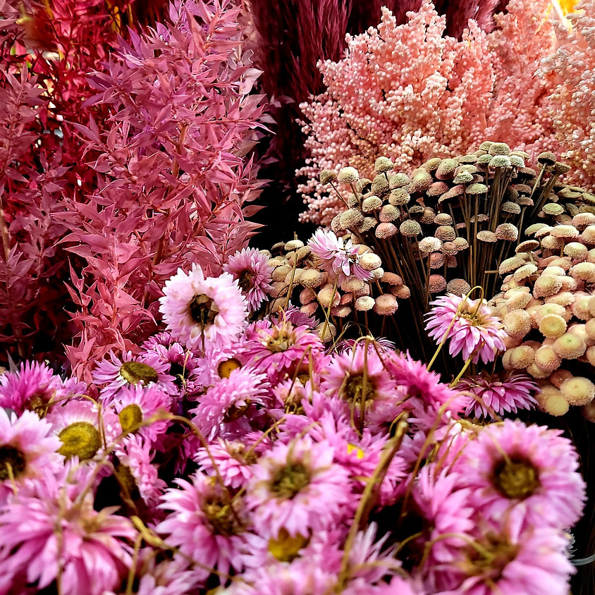 Dry Flower Workshop by Rosalba