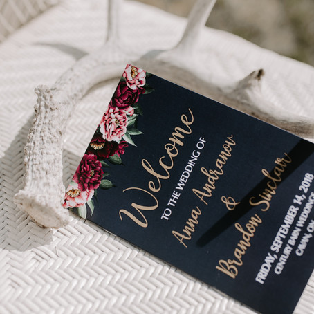 8 TIPS ON MAKING YOUR WEDDING PROGRAM AND SEATING CHART FUN