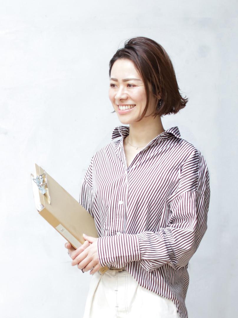 入社12年 統括マネージャー 小林 光枝
