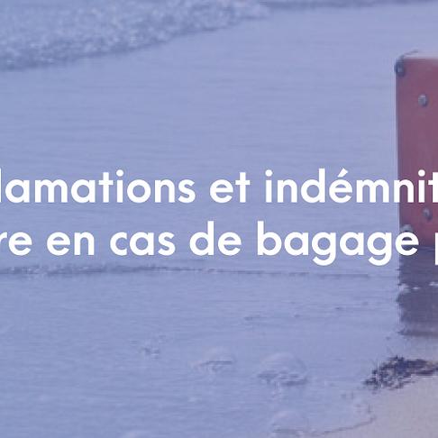 Aérien : Que faire en cas de bagage perdu en voyage d'affaires ?