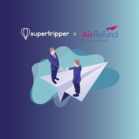 Supertripper s'associe à AirRefund pour indemniser ses clients en cas de perturbation de vol