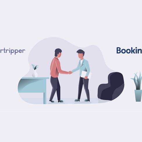 Supertripper devient partenaire officiel de Booking.com