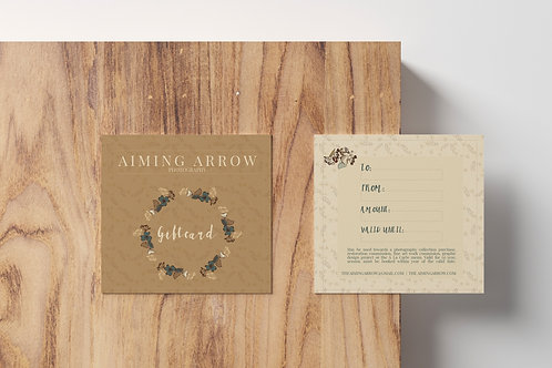 Aiming Arrow Gift Certificate