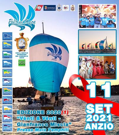 Regata con i J24 olimpici a vele spiegate, torna il Palio del Mare 2021