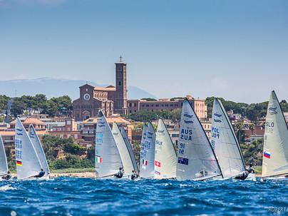 Anzio ospita la Regata Nazionale della class Finn, ultima tappa della Coppa Italia 2021