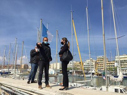 """""""Scuole in Porto"""" anche d'estate: gli studenti dell'IC Anzio V in visita didattica alla Capo d'Anzio"""
