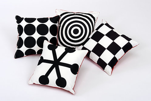 Baby Moves Geometric Perception Cushions (pack of 4)